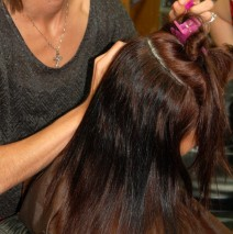 Fusion Hair Extensions Add Color, Length, & Volume